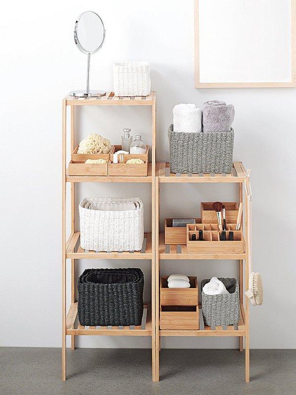 muebles de baño en orden